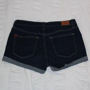 BDG Shorts - BDG Dark Wash Denim Shorts